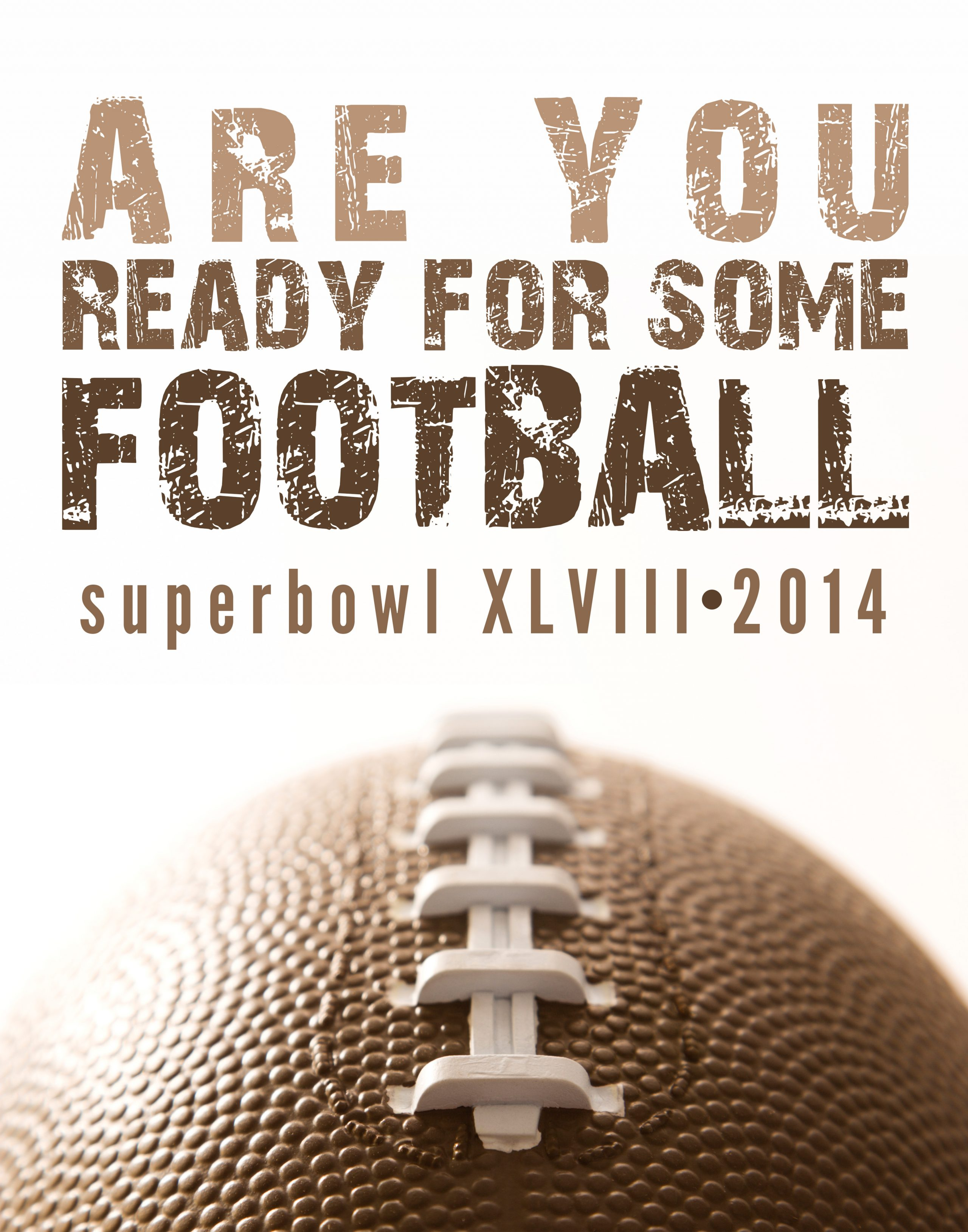 Super Bowl Printable and Invitation