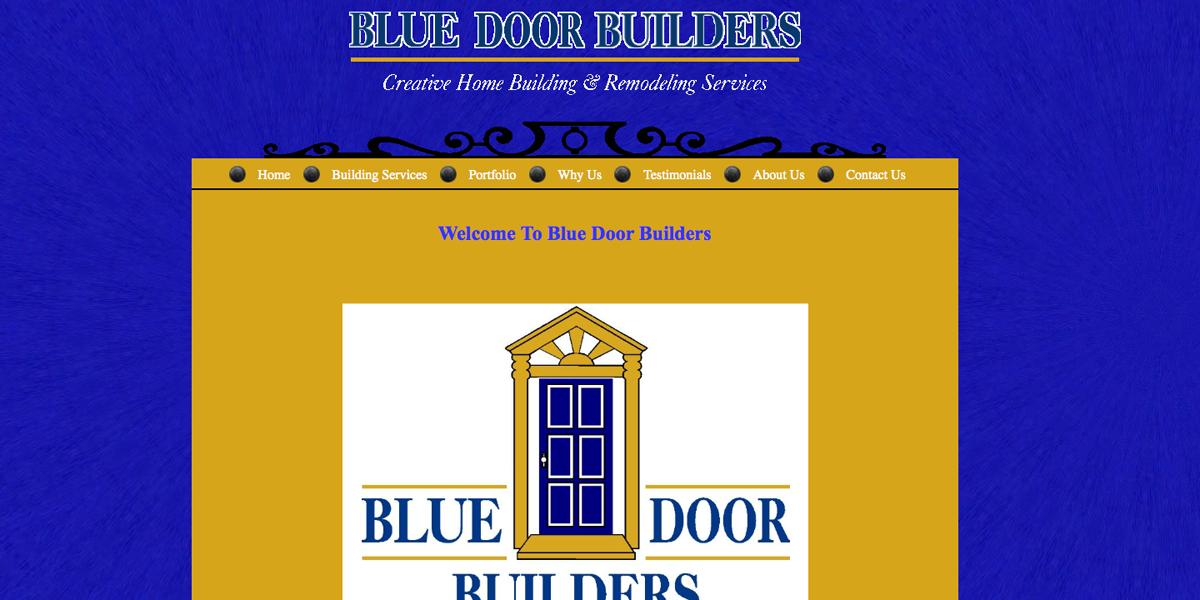 Blogger Design - Blue Door Builders