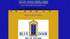 Blogger Design - Blue Door Builders