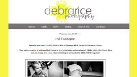 Blogger Design - Debra Rice Photography