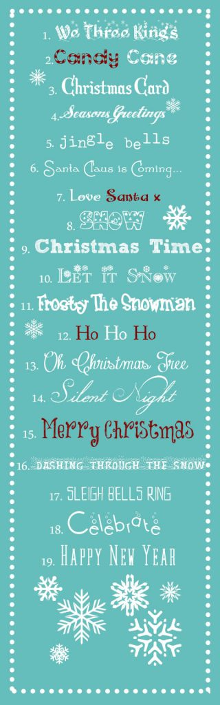 Best Free Christmas Fonts