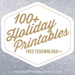 100+ FREE holiday printables