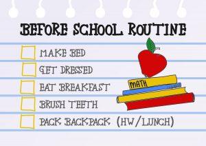 before-school-routine