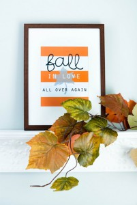 Free Fall Home Printables