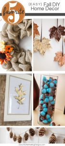 easy DIY Fall decor