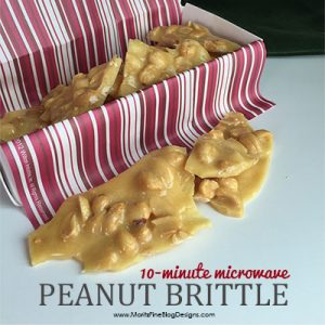 Love peanut brittle but are afraid to ruin it when you make it? Try this no-fail 10-Minutes Microwave Peanut Brittle!