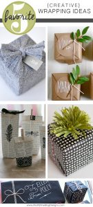 Getting ready to wrap all those Christmas presents? Use these Easy Creative Gift Wrap Ideas to make the presents under your tree look awesome!