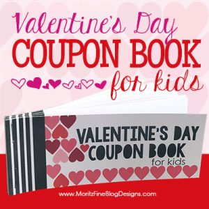 Give your kids a simple gift for Valentine's Day this year. They will love this awesome free Valentine's Day Coupon Book for Kids!