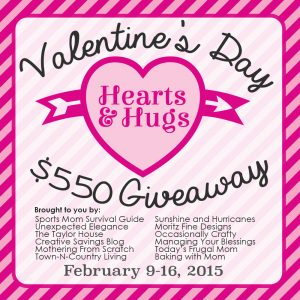 $550 Valentines Day Giveaway