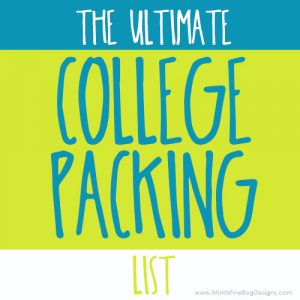 Getting kids read to head off to college is a huge task! Grab this Ultimate College Packing Checklist to tackle gathering all the college necessities!