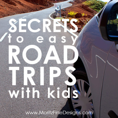 Find out how you can avoid boredom, numerous bathroom stops and a million questions during your road trip with these Secrets to Easy Road Trips with Kids!